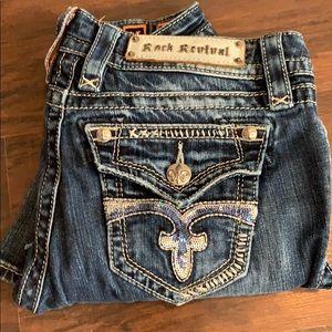 Rock Revival Bling Bootcut Jeans